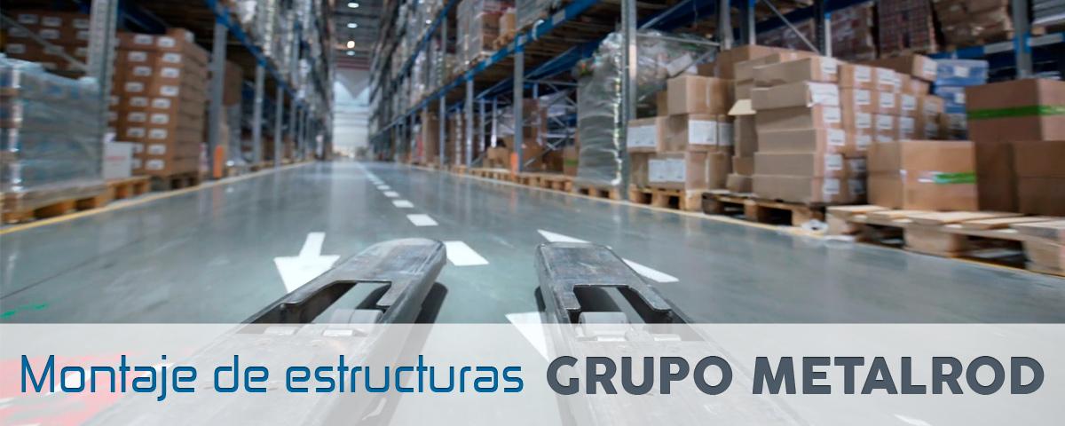 Venta De Estanterias Metalicas.Montaje De Estanterias Metalicas Grupo Metalrod Compra